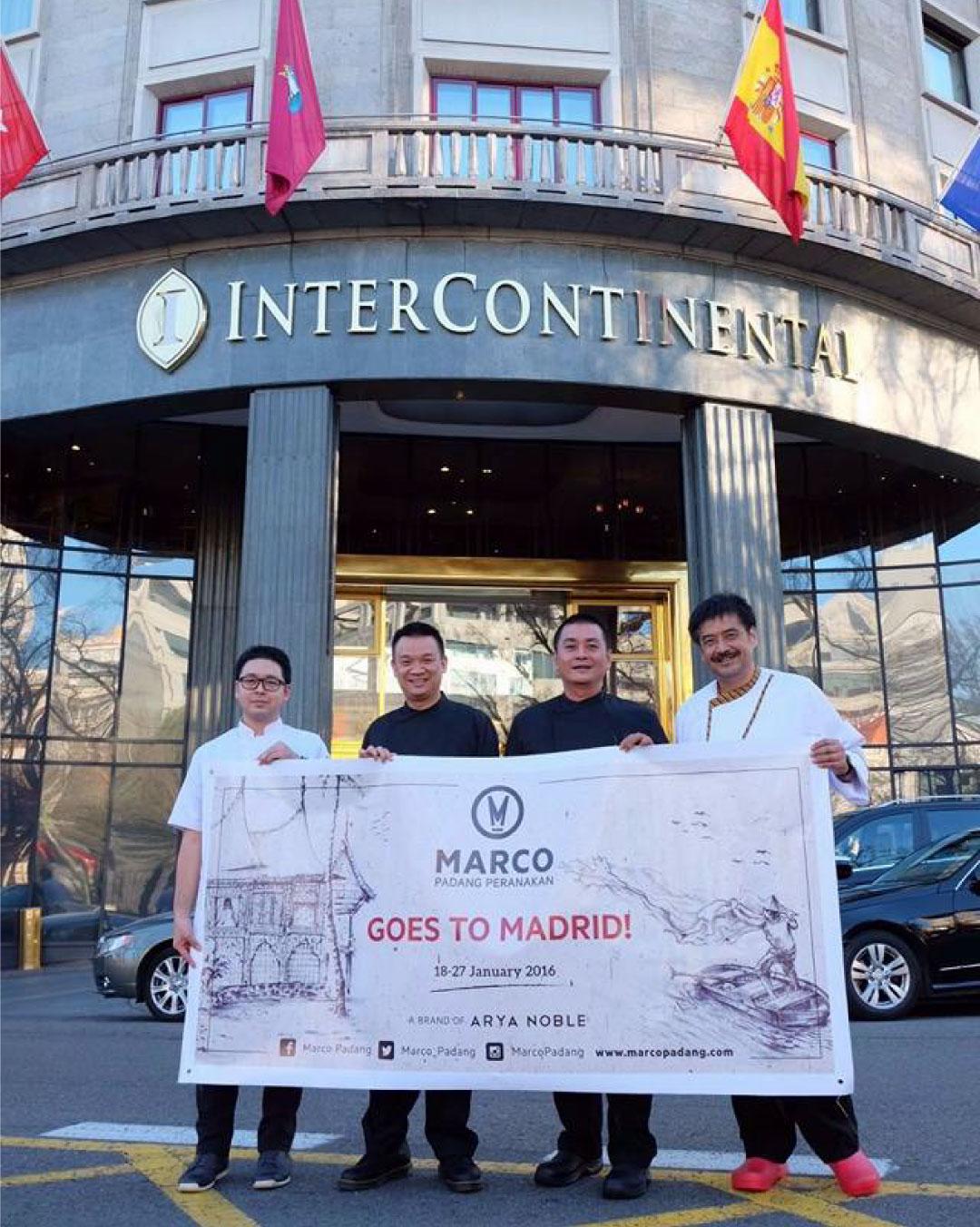 Marco Padang Peranakan Goes to Madrid