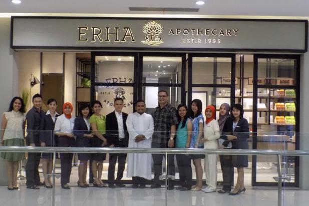ERHA Established 76th Branch in Lombok