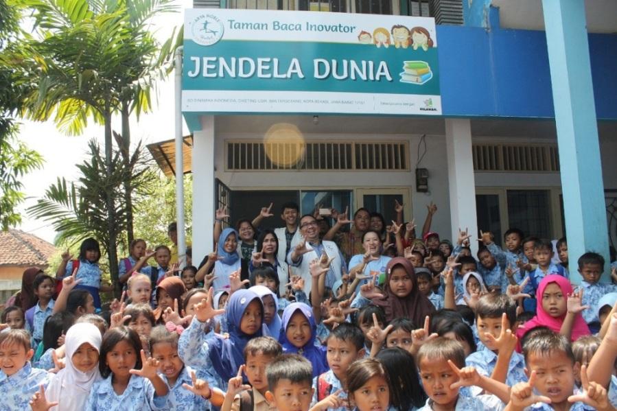 ARYA NOBLE LAUNCHED TAMAN BACA IN CIKARANG TO INCREASE CHILDREN'S LITERACY