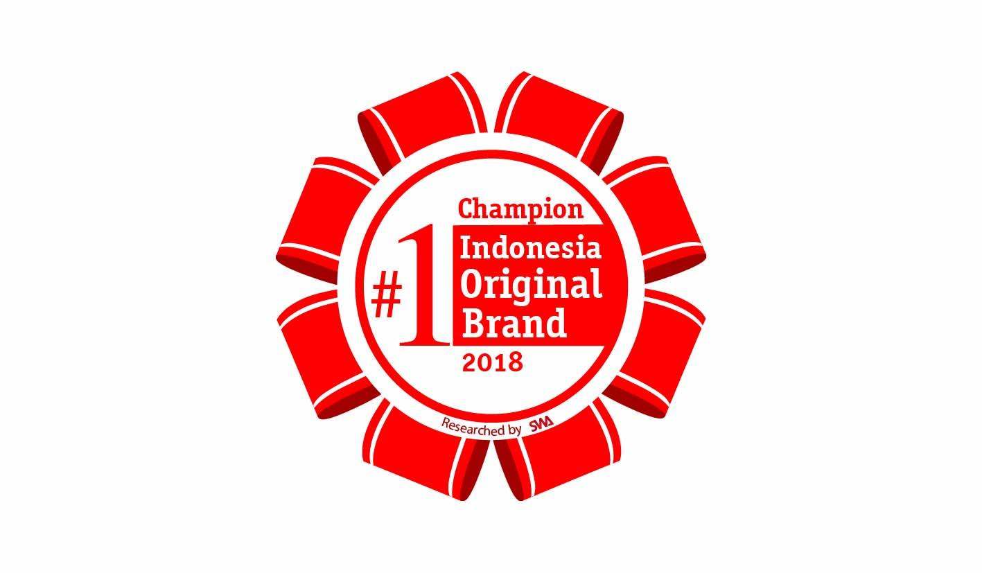 ERHA AWARDED THE INDONESIA ORIGINAL  BRANDS 2018