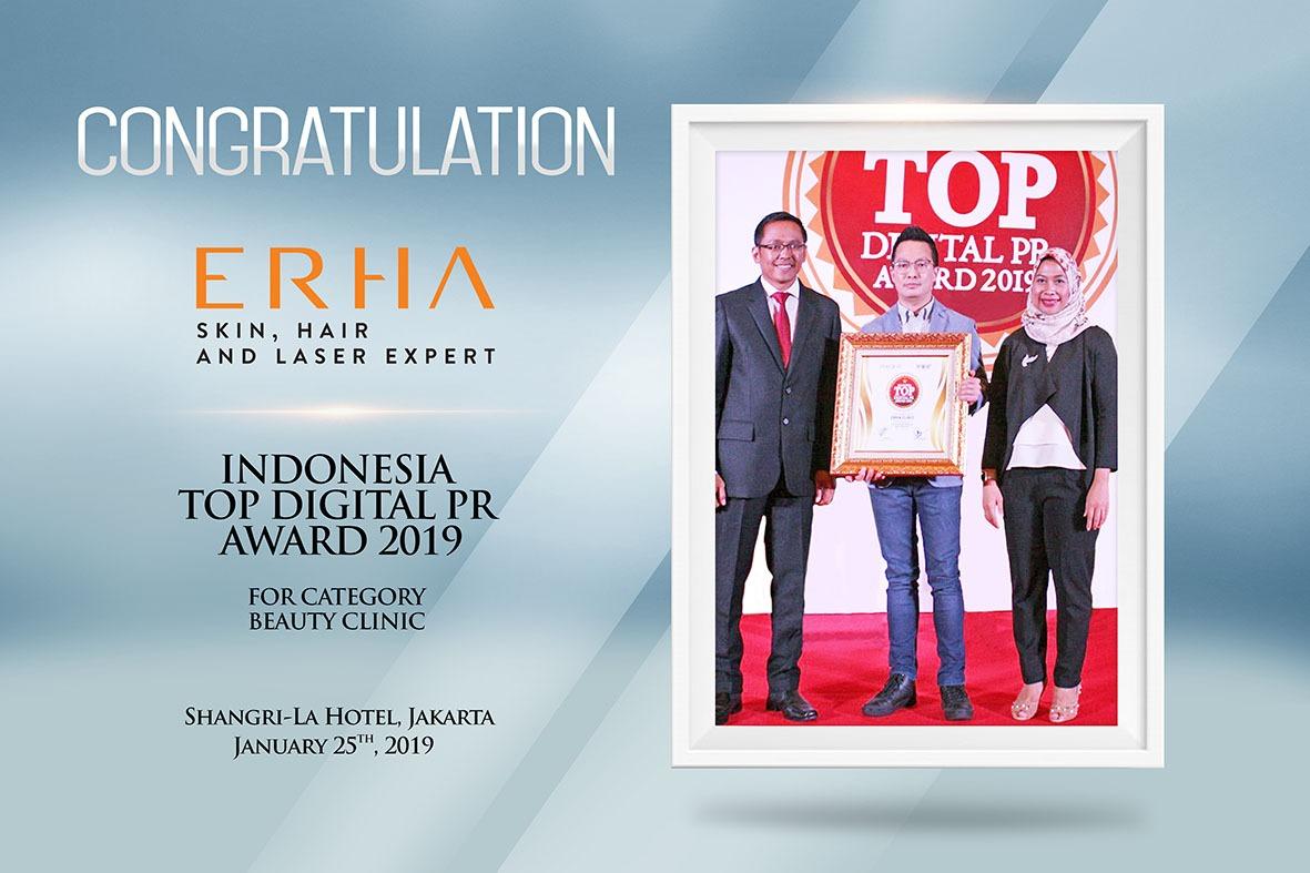 ERHA ACHIEVED TOP DIGITAL PR AWARD 2019